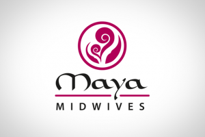 Sample of work done by tk:design for Maya Midwives