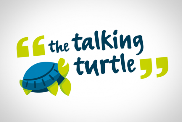 The Talking Turtle logo