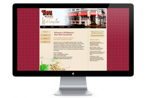 Sample of work done by tk:design for Thai Chef Restaurant