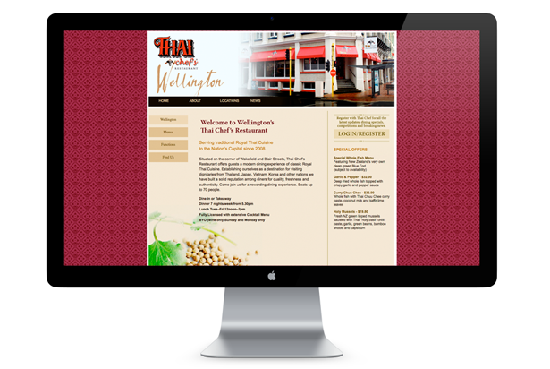 Thai Chef's Restaurant - Wellington Location Page