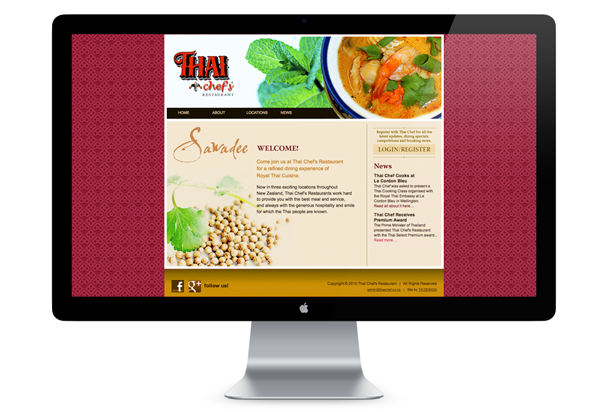 Thai Chef's Restaurant - Home Page