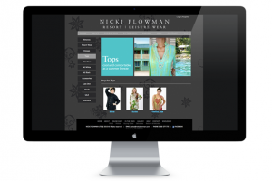 Sample of work done by tk:design for Nicki Plowman Ltd